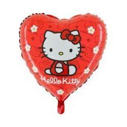 Balón Hello Kitty - červený