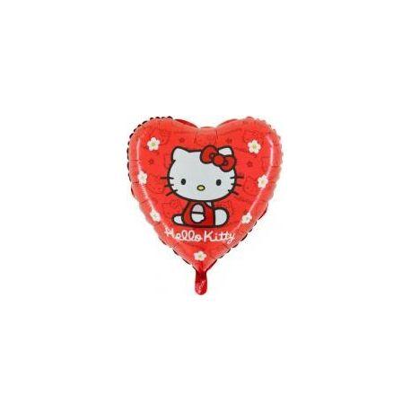 Balón Hello Kitty červený