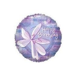 Balón Happy Birthday - Kvetinka
