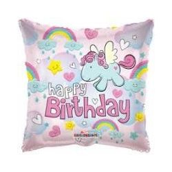 Balón Happy Birthday Pony