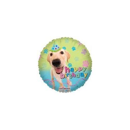 Balón Happy Birthday Pes real