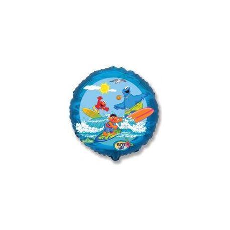 Balón Elmo, more a surf