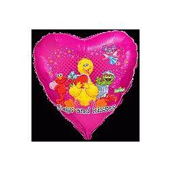 Balón Elmo,objatia a bozky