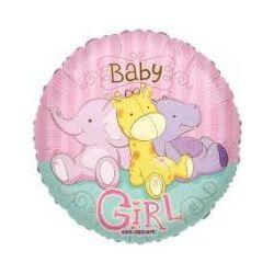 Balón Baby Girl - žirafa