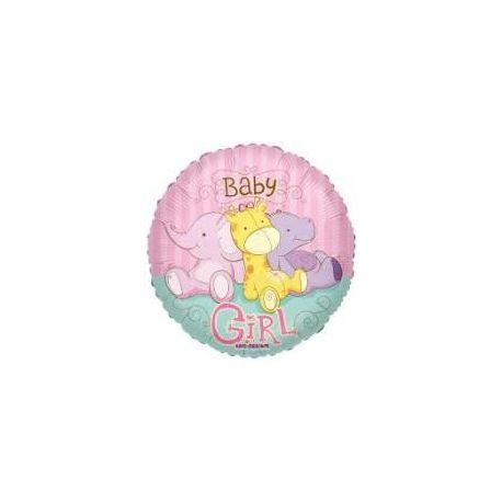 Balón Baby Girl žirafka