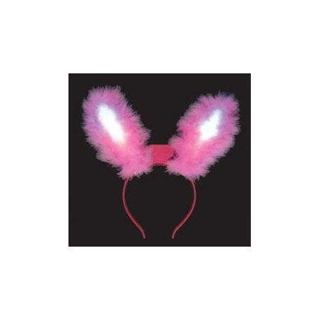 Svietiace ušká (ružové)