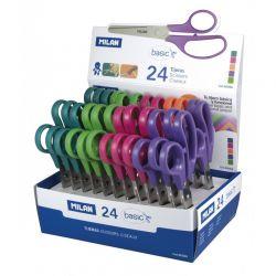 Školské nožnice Milan 13,5cm - fialová