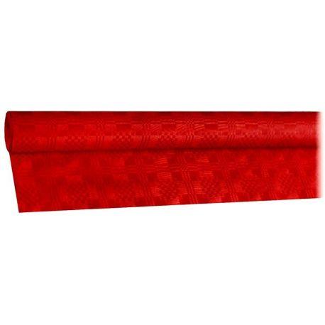 Pap. obrus rolovaný 8 x 1,20 m červený (1ks)