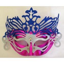 Maska tmavoružová