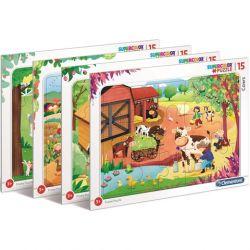 Clementoni Puzzle 15 Farma