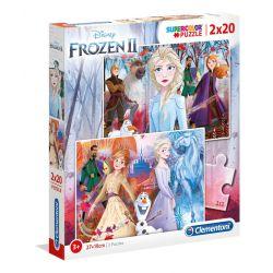 Clementoni Puzzle 2x20 Frozen2