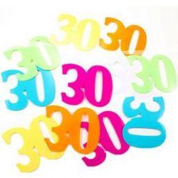 Konfety k narodeninám s veľkosťou 30 XL