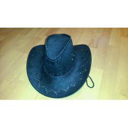 klobúk čierny western