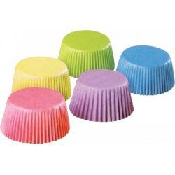 Košíčky na Muffiny farebné mix 50mm