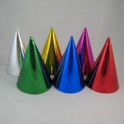 Párty klobúky farebné 6ks