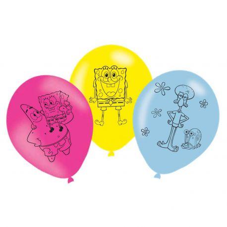 Balóny SpongeBob 6ks