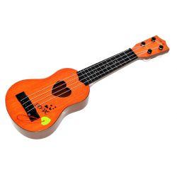 Gitara 40cm s trsátkom - tmavohnedá