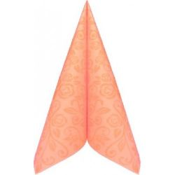Servítky PREMIUM 40x40cm dekor R Apricot 50ks