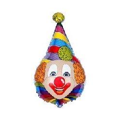 Balón Klaun - špicatá čiapka