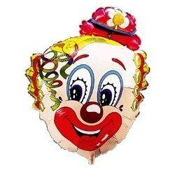 Balón Klaun s kvietkom
