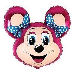 Balón Mickey Mouse - dve mašle