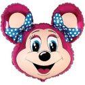 Balón Minnie - dve mašle