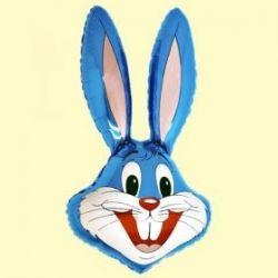 Balón Zajac modrý