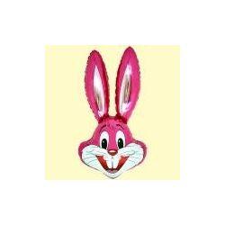 Balón Zajac ružový