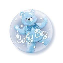 Balón Boy modrý macko