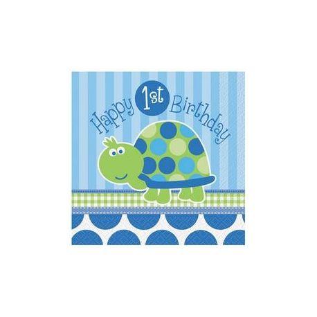 Servítky Hapy Birthday korytnačka