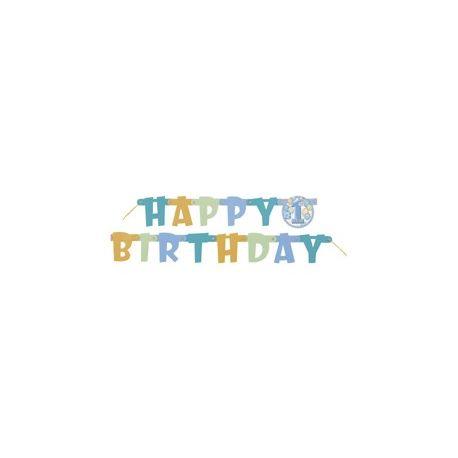 Girlanda Happy Birthday boy