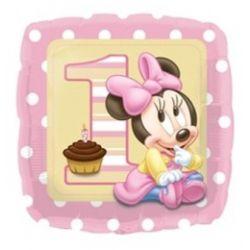 Narodeninový balon Minie first girl
