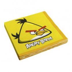 Angry Birds - Žltý vták party servítky