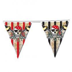 Pirátska vlajková girlanda