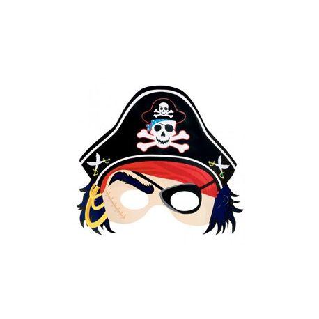 Papierová maska pirát