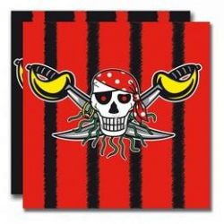Party servítky - pirát