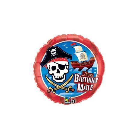Pirátska loď - narodeninový fóliový balón