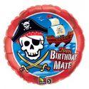 Pirátska loď - narodeninový balón