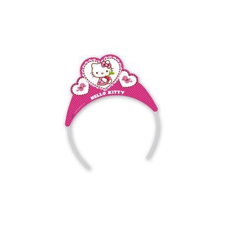 Hello Kitty  - Party čelenka so srdiečkami