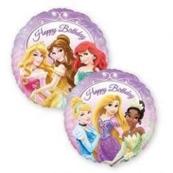 Balón Happy Birthday Princezná