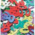 Konfety - Čísla 30 farebný mix - 14 gr