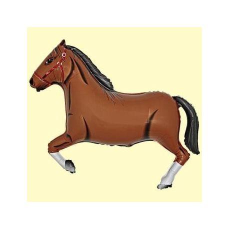 Balón Kôň tmavohnedý