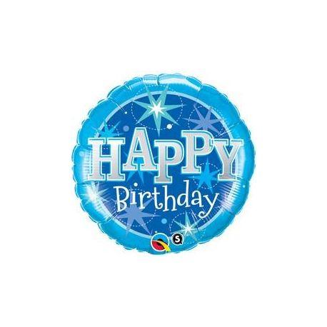 Qualatex Happy Birthday Balon boy