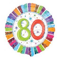 Baló s číslom 80