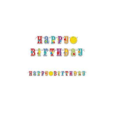 Party banner - na narodeniny, s balónmi