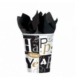 Novoročné poháre Happy New Yeah
