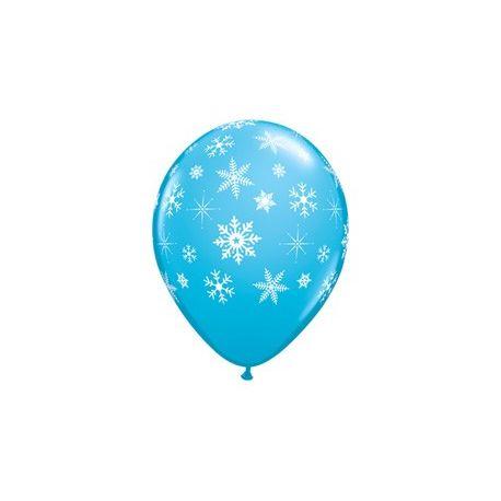 Balón s potlačou vločiek