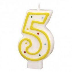 Sviečka tortová č. 5