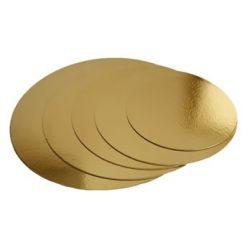 Podložka zlatá 12cm