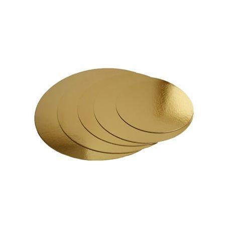 Podložka zlatá 20cm